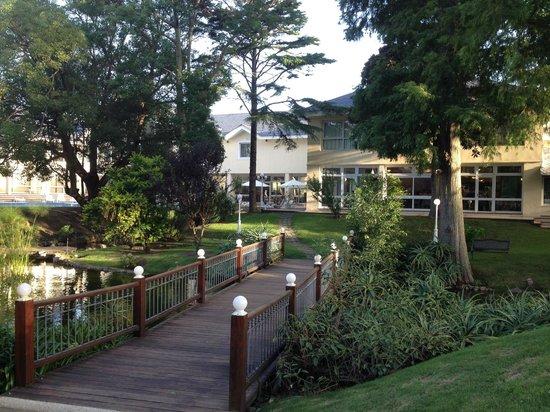 Parque Hotel Jean Clevers: Jardim