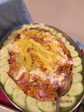 AHAARAM Multicuisine Restaurant : salad