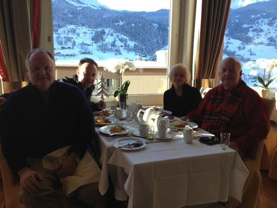 Belvedere Swiss Quality Hotel : Great view at breakfast!
