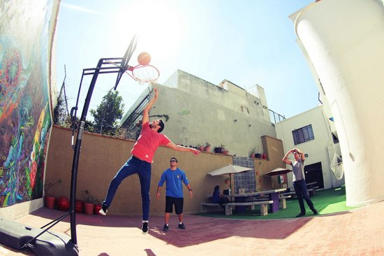 Blue Pepper Hostel: Hostal Blue Pepper basketball