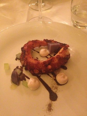 Ristorante Giglio : polpo con patate francesi, sedano e maionese.