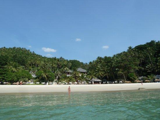 The Surin Phuket: Hotelstrand