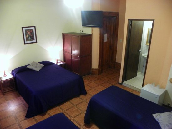 Hotel Mediterraneo: Habitación Cuadruple