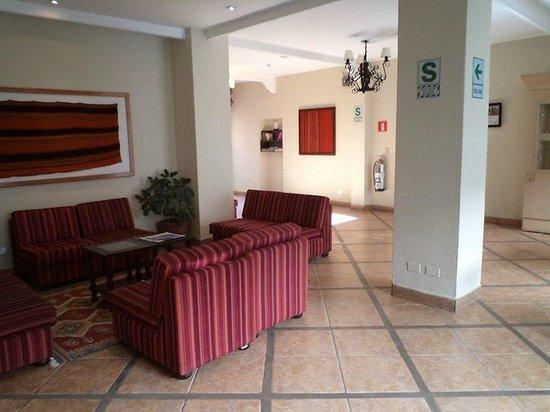 Casa Andina Standard Cusco Koricancha: lobby planta baja