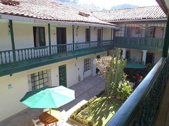 Casa Andina Classic Cusco Koricancha: patio desde arriba