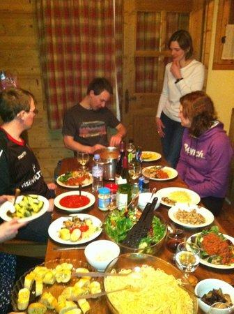 Les Montagnettes, Les Chalets de la Mouria: Self catering 2012