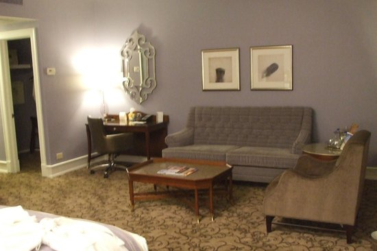 The Peabody Memphis: My room, October 2013