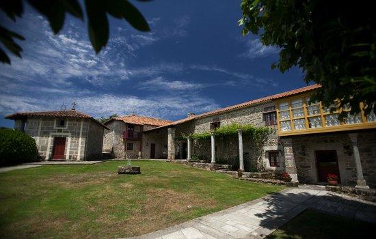 Rectoral de Castillon: ENTRADA PRINCIPAL