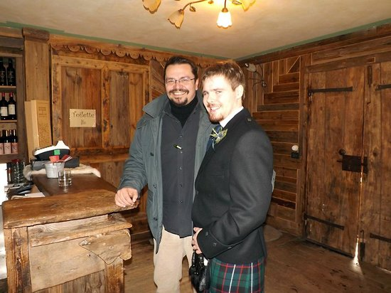 Hotel Lion Noir: Antonio and me at the wedding!