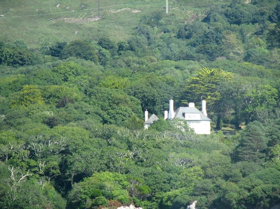 Glengarriff, Irlande : VIew of Maureen O'Hara's House