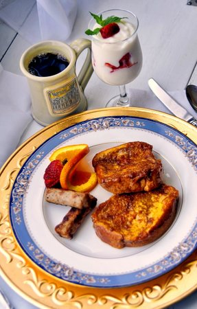 Hudspeth House Bed and Breakfast : Full breakfast each morning at 8:30am
