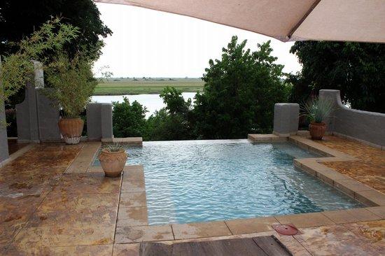 Chobe Game Lodge: suite con piscina privata