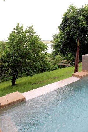 Chobe Game Lodge : suite con piscina privata