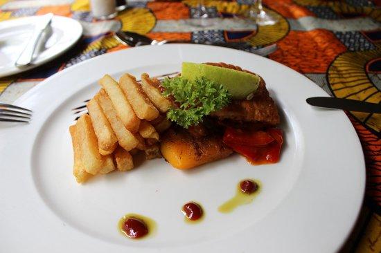 Chobe Game Lodge : uno dei tanti pasti