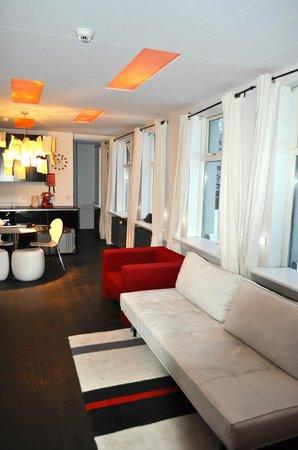 Apartment K : Deluxe Studio mit Schlafzimmer