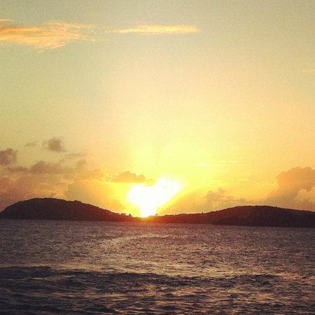 Frenchman's Reef & Morning Star Marriott Beach Resort: Sunset view