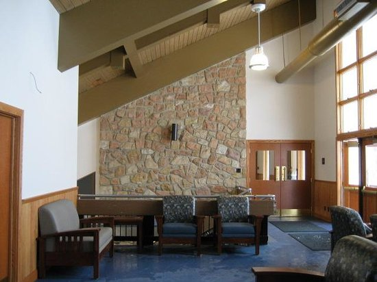 Canaan Valley Resort: Skiers lounge