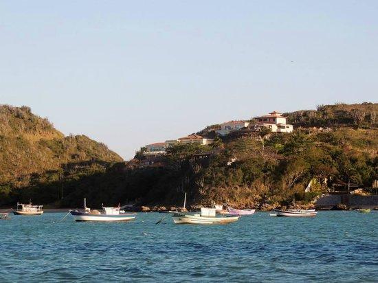 Pousadas Unicornio: El hotel desde la bahía de Ferradura