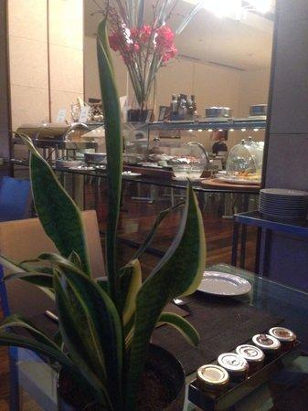 Hilton Florence Metropole: Sala colazione