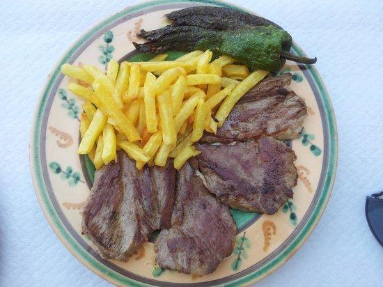 Hotel Restaurante Atalaya: Solomillo