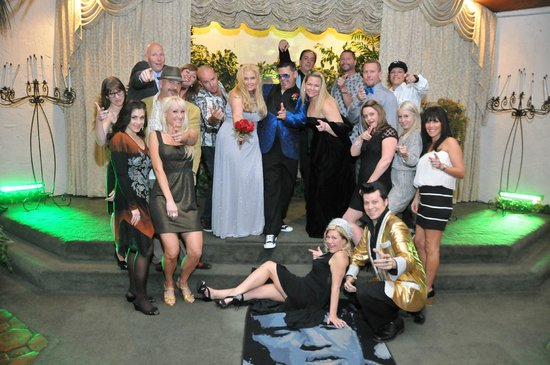 Viva Las Vegas Wedding Chapel Nothing Like A Elvis Style