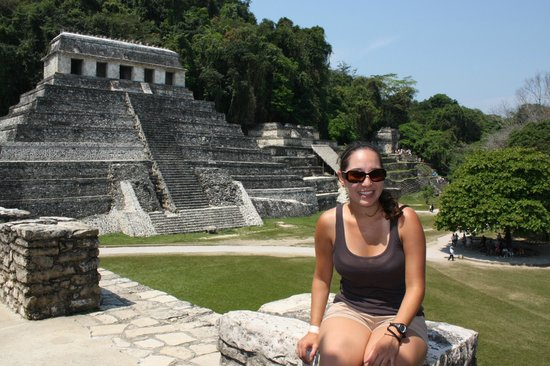 Palenque ruinas : Best seat in the house