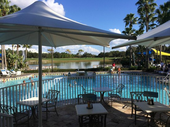 Marriott's Cypress Harbour Villas: View from pool bar