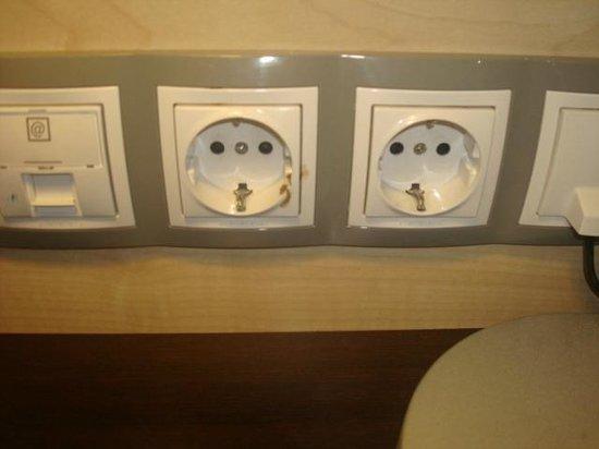 Holiday Inn Express Barcelona City 22: Não havia nenhum adaptador de tomadas no hotel