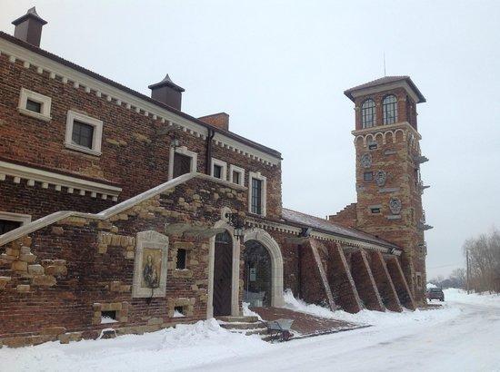 Old House Resort & SPA: Вид на спа и Башню Рапунцель