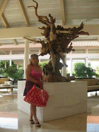 Melia Coco Beach : En el Lobby Del Hotel Gran Melia!!!