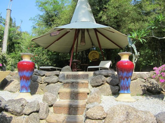 Coco Palace Resort: pool/strandområde