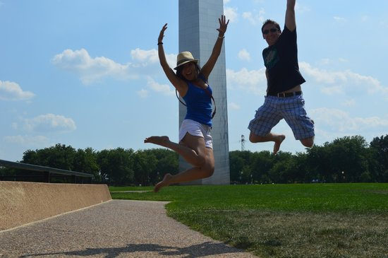 The Gateway Arch: the arch