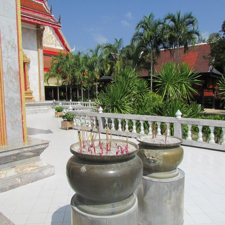 Wat Chalong: Censers