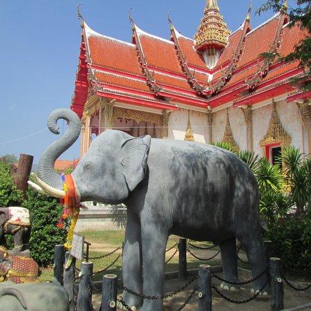 Wat Chalong: Figures of Elephants