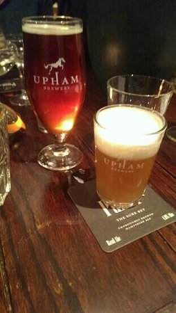 The Bunk Inn: upham ale and chicken consomme