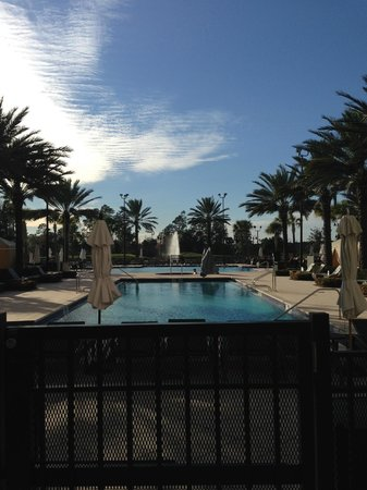 Waldorf Astoria Orlando - Pool view