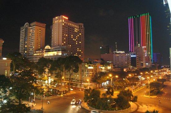 Rex Hotel: Вид на город из отеля