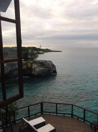 Villas Sur Mer: View from bedroom