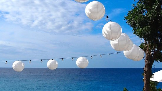 Villas Sur Mer : Lanterns for the wedding