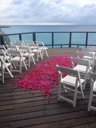 Villas Sur Mer : Wedding set-up