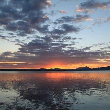 Tomhegan Wilderness Cabins: Tomhegan Camps Sunrise