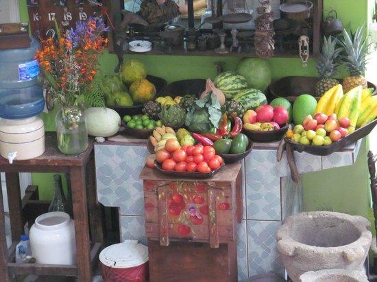 Huillacuna Casa del Arte: Frutas