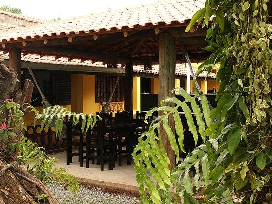 Guappo Chacara Hostel: Área externa