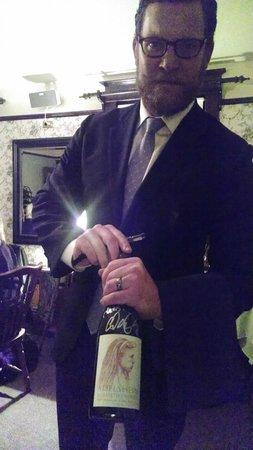 Joel Palmer House: The Last One: A signed bottle of 2007 Adelsheim Elizabeth's Reserve Pinot Noir