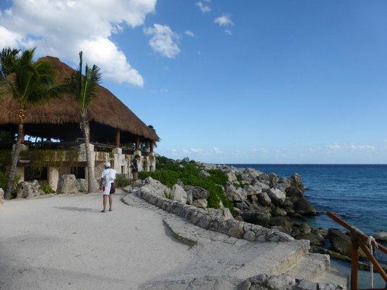 Xcaret Eco Theme Park : Vue sur la mer