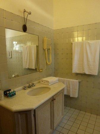 Airone Hotel: Il bagno della camera