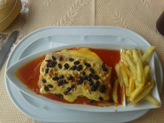 Restaurante El Pantano: bacalao gratinado