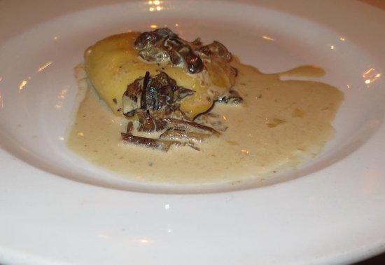 Club A Steakhouse : Complimentary Mushroom Ravioli