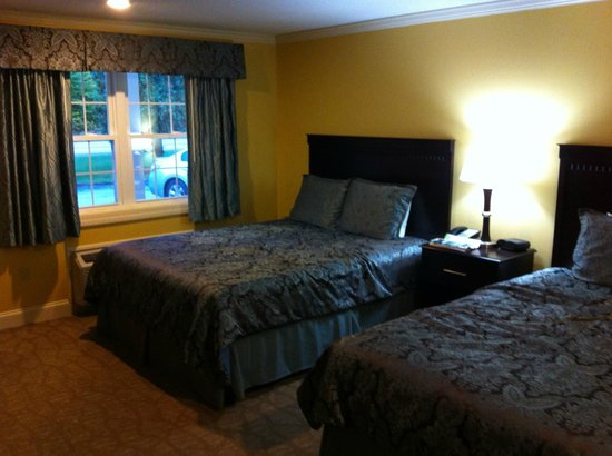 Golden Apple Inn : One of the king-sized beds.