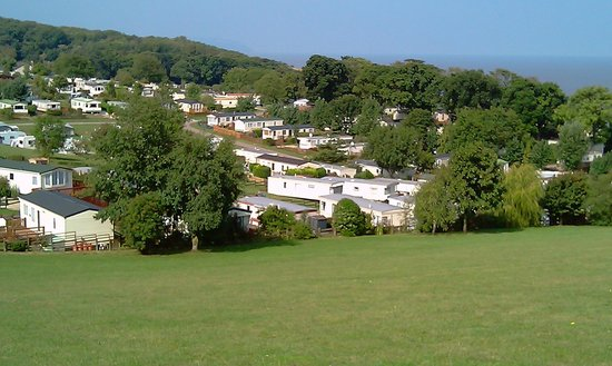 Home Farm Holiday Centre: View from the hill